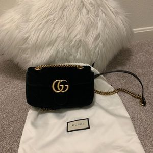 Gucci Velvet Mini With Receipt